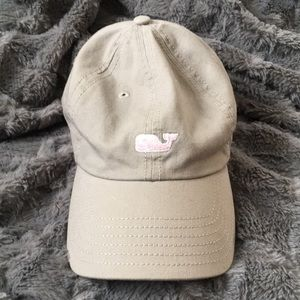 Vineyard Vines Accessories - Vineyard Vines Gray & Pink baseball hat